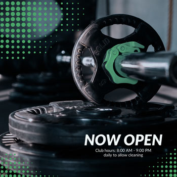 gym now open instagram  COVID-19 Re-opening