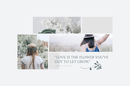 """""""LOVE IS THE FLOWER YOU'VE GOT TO LET GROW."""""""