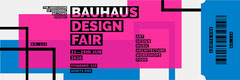 Bauhaus design fair ticket Fairs