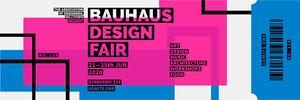 Bauhaus design fair ticket Music Banner