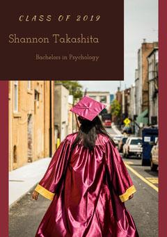 Shannon Takashita Graduation