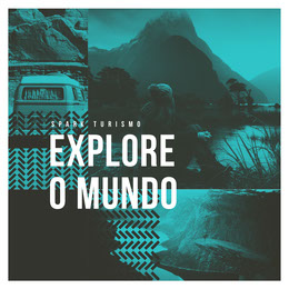explore the world collage instagram Colagem de fotos