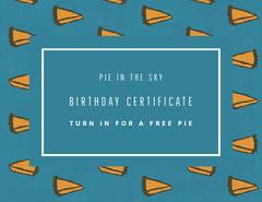 BIRTHDAY CERTIFICATE Birthday