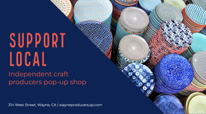 Navy Ceramics Craft Producers Support Local Twitter Post Reclamebanner