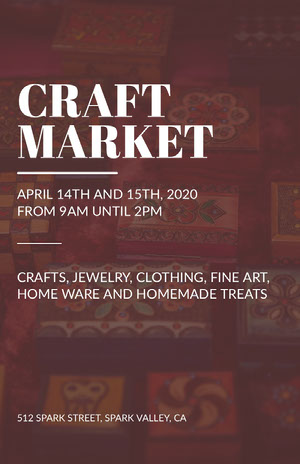 CRAFT<BR>MARKET Arts Poster