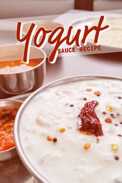Yogurt Sauce Recipe Pinterest Graphic Cooking