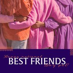 National Best Friend Day Instagram Square Grraphic Friends