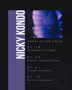 Nicky Kondo Music Tour