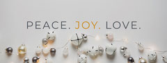 Peace. Joy. Love. Christmas
