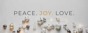 Christmas Facebook Profile Cover with Baubles Christmas Facebook Cover