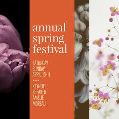 annual spring festival Speaker