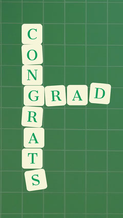 Green Blocks Congratulations on Graduation Instagram Story Graduation Congratulation