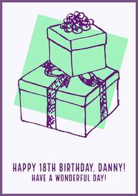 birthday card for neutral  Birthday