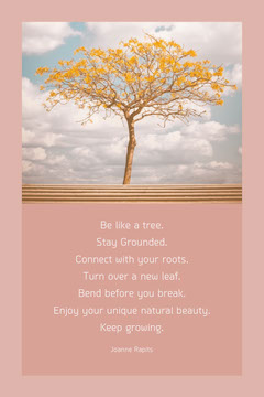 pink and white quote pinterest  Trees