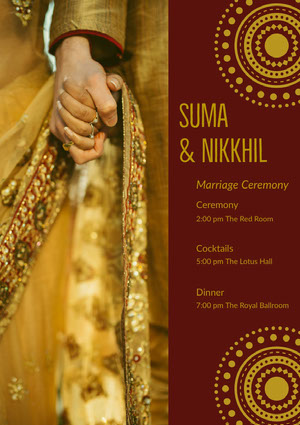 Suma & Nikkhil Program