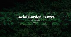Black Overlay Green Leaves Social Garden Centre Facebook Post Garden