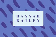 purple pattern name tag Pattern Design