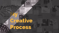 My Creative Process Youtube Channel Art
