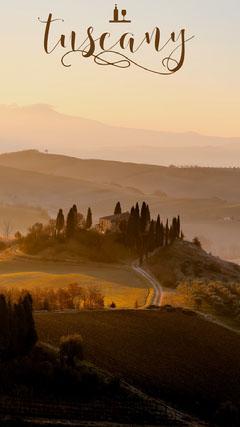 Tuscany snapchat filter Italy