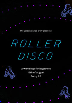 Roller Disco Flyer  Workshop
