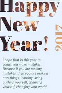 Happy New Year! Happy New Year Quotes