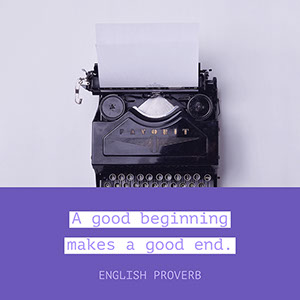 Violet, Black and white, Cold Toned Typewriter Instagram Graphic Meme