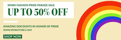 UP TO 50% OFF Pride