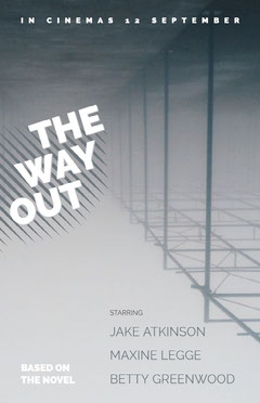 Grey and White The Way Out Promo Promotion