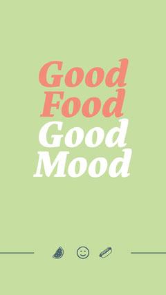 Good <BR>Food<BR>Good<BR>Mood Food