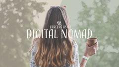 Khaki Careers as Digital Nomad Youtube Thumbnail Career Poster