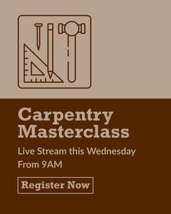 Brown Carpentry Masterclass Instagram Portrait Workshop
