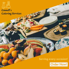 Yellow Catering Services Instagram Portrait Catering
