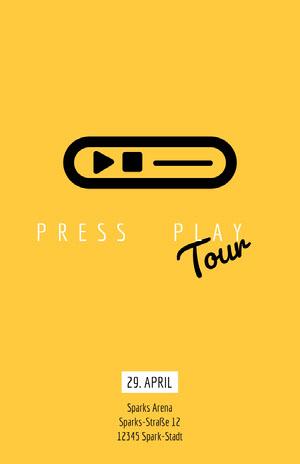 Tour Veranstaltungsplakat