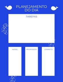 Planner Agenda