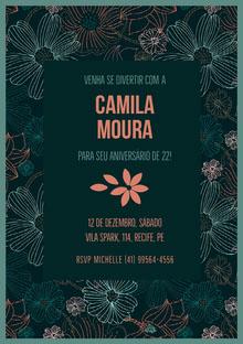 Camila Moura  Convite