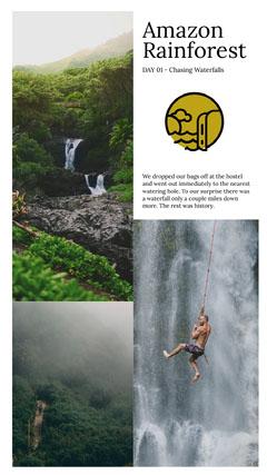 Amazon Rainforest Instagram Story
