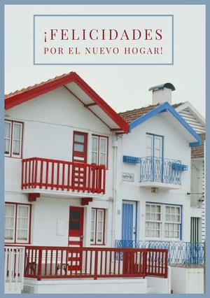 new home congratulations cards  Tarjeta de felicitación