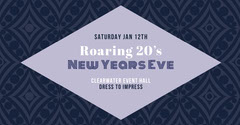 Roaring 20's<BR>New Years Eve New Year