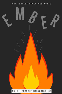 Ember Fire Book Cover  Couverture de livre