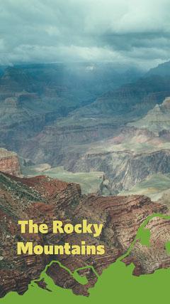 Green Rocky Mountains Snapchat Filter Mountains