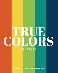TRUE COLORS Rainbow