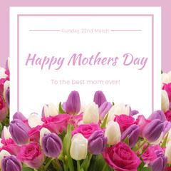 Mother's Day Instagram Square  Seasonal
