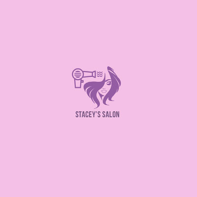 Pink and Violet Square Logo Ideas de logotipos