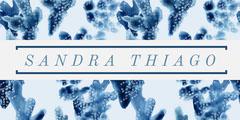 Blue Floral LinkedIn Banner Flowers