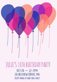 girlsbirthdaypartyinvitation  Birthday