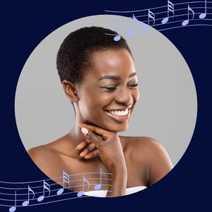 Blue Musical Profile Picture Profile Picture