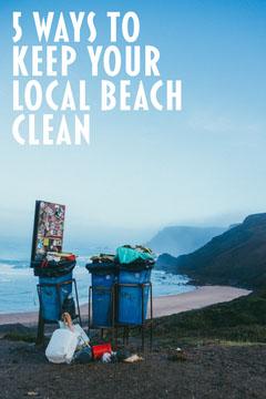 Blue Sky Beach Cleaning Pinterest Lake
