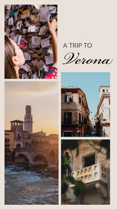 Bright With Photos A Trip to Verona Instagram Story Instagram Post
