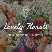 Elegant Floral Flower Delivery Service Instagram Post  COVID-19 Re-opening