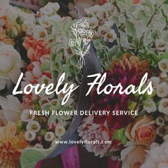 flower delivery service instagram post  Service